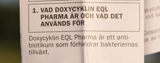 vad är doxycyklin